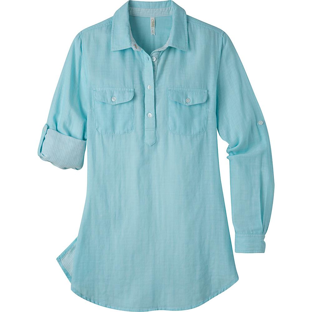 Mountain Khakis Two Ocean Tunic Shirt S - Glacier - Mountain Khakis Womens Apparel - Apparel & Footwear, Women's Apparel