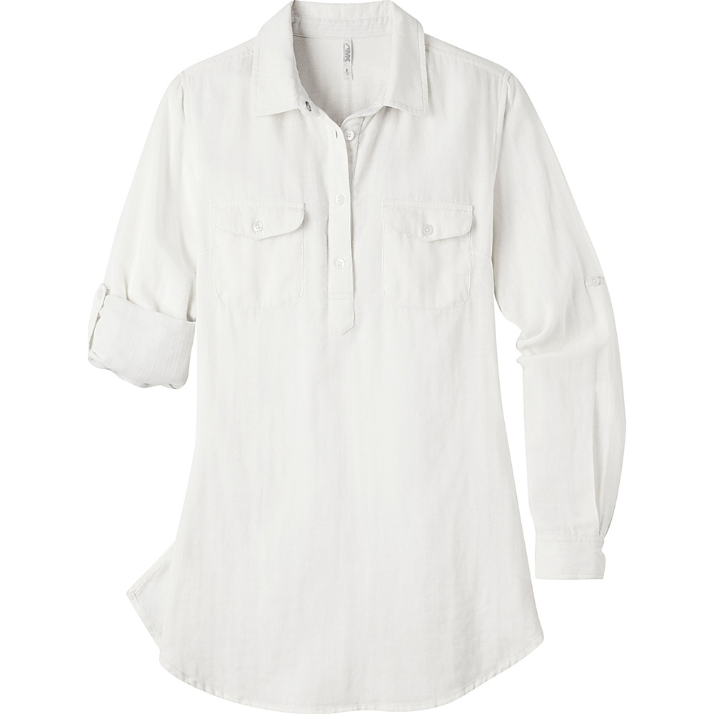 Mountain Khakis Two Ocean Tunic Shirt S - Linen - Mountain Khakis Womens Apparel - Apparel & Footwear, Women's Apparel