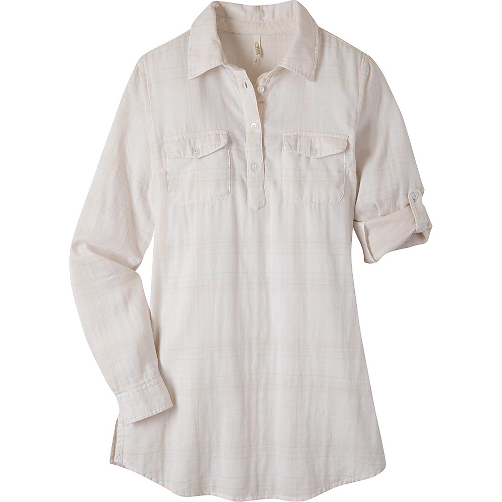 Mountain Khakis Two Ocean Tunic Shirt L - Linen - Mountain Khakis Womens Apparel - Apparel & Footwear, Women's Apparel