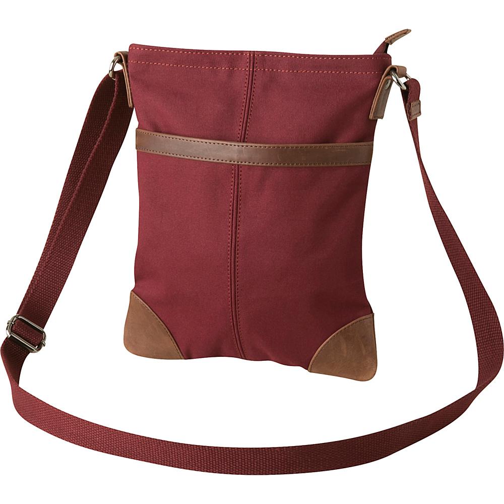 Mountain Khakis Pearl Street Crossbody Satchel Plum - Mountain Khakis Fabric Handbags - Handbags, Fabric Handbags