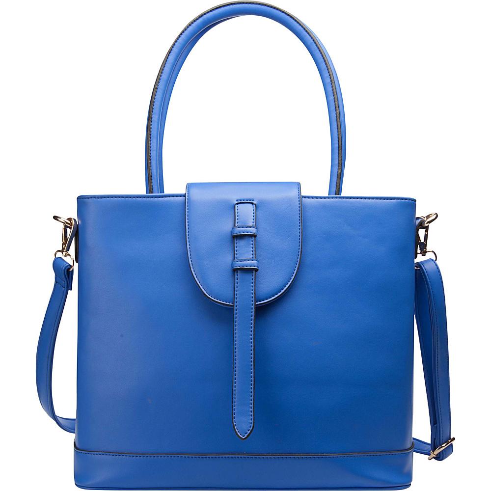 Ann Creek Women s Bavaro Satchel Bag Blue Ann Creek Manmade Handbags