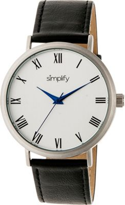 Simplify 2900 Unisex Watch Black/Silver - Simplify Watches