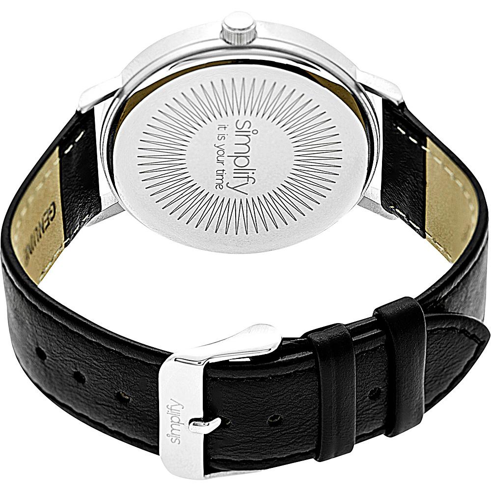 Simplify 2900 Unisex Watch Orange/Orange - Simplify Watches