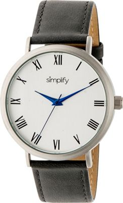 Simplify 2900 Unisex Watch Grey/Silver - Simplify Watches