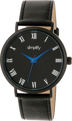 Simplify 2900 Unisex Watch Black/Black - Simplify Watches