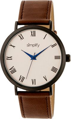 Simplify 2900 Unisex Watch Brown/Gold - Simplify Watches
