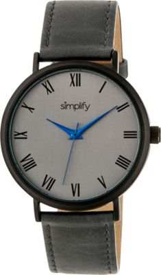 Simplify 2900 Unisex Watch Grey/Charcoal - Simplify Watches