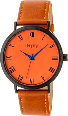 Simplify 2900 Unisex Watch Orange/Orange - Simplify Watches