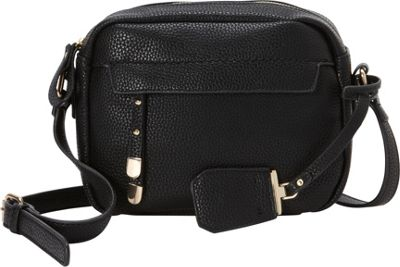 La Diva Kylie Crossbody Black - La Diva Manmade Handbags
