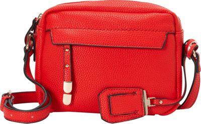 La Diva Kylie Crossbody Red - La Diva Manmade Handbags