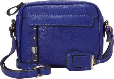 La Diva Kylie Crossbody Royal Blue - La Diva Manmade Handbags