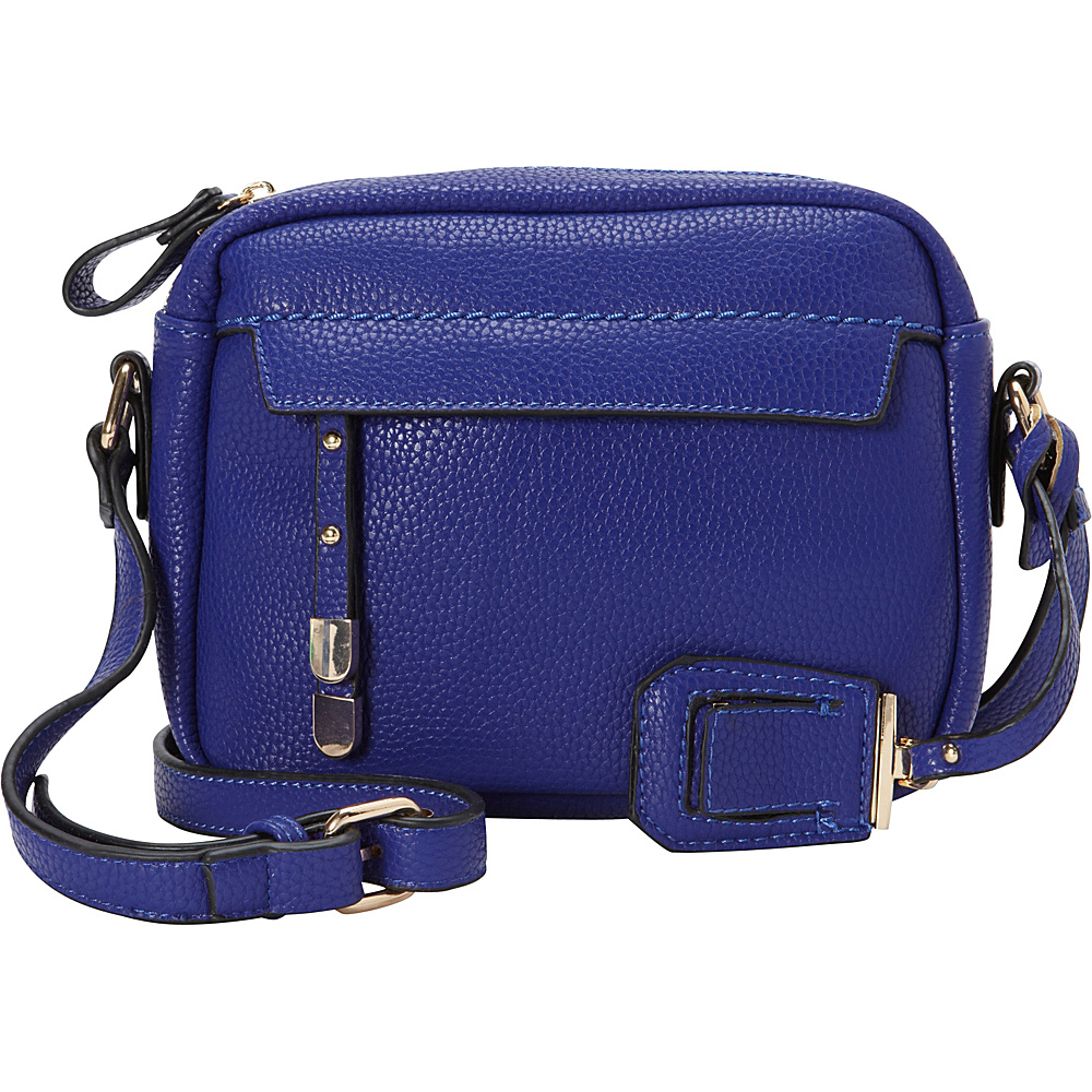 La Diva Kylie Crossbody Royal Blue La Diva Manmade Handbags