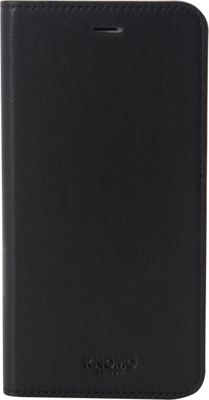KNOMO London Magnet Folio iPhone 6+/6S+ Case Black - KNOMO London Electronic Cases