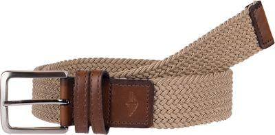 Dockers 35MM Stretch Fabric Braid M - Khaki - Dockers Other Fashion Accessories