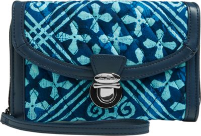 Vera Bradley Ultimate Wristlet - Retired Prints Cuban Tiles - Vera Bradley Women's Wallets