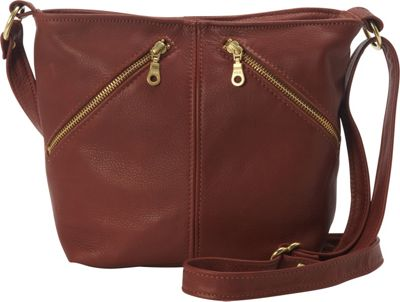 Victoria Leather Sophie Crossbody Bag Cognac - Victoria Leather Leather Handbags