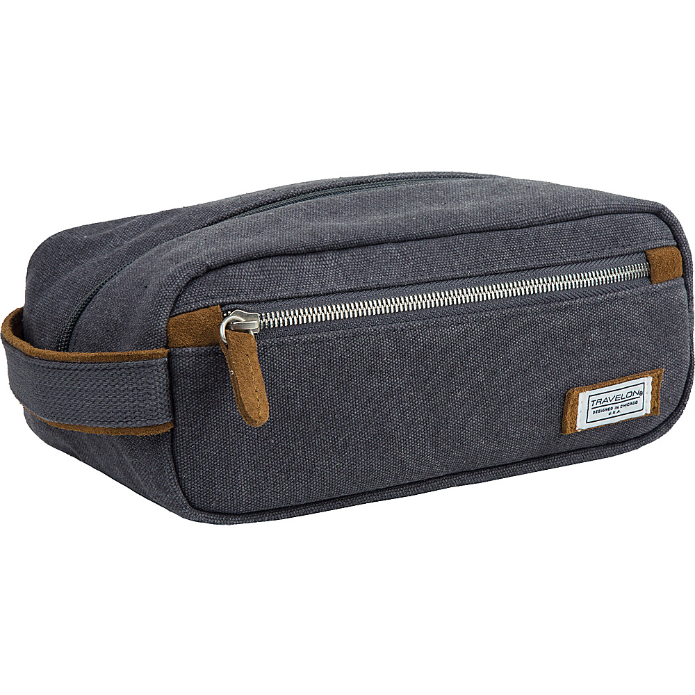 Travelon Heritage Toiletry Kit Pewter - Travelon Toiletry Kits - Travel Accessories, Toiletry Kits