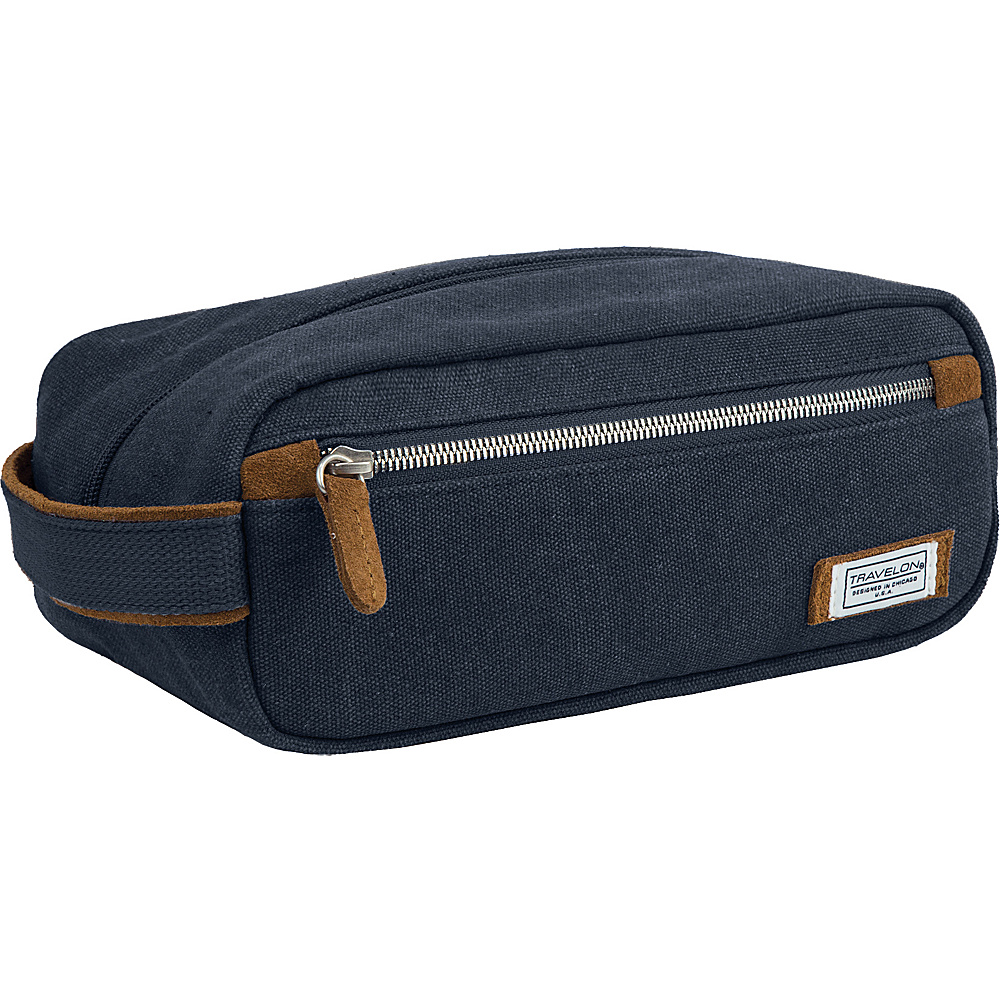 Travelon Heritage Toiletry Kit Indigo - Travelon Toiletry Kits - Travel Accessories, Toiletry Kits