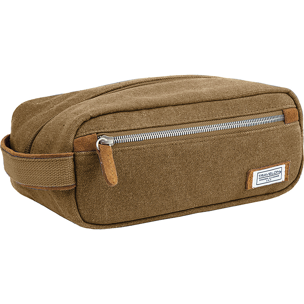 Travelon Heritage Toiletry Kit Oatmeal - Travelon Toiletry Kits - Travel Accessories, Toiletry Kits
