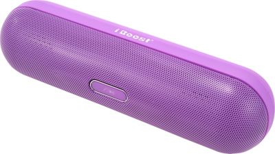 iBoost Stylish Oval Lightweight Speaker With Deep Bass Purple - iBoost Electronics