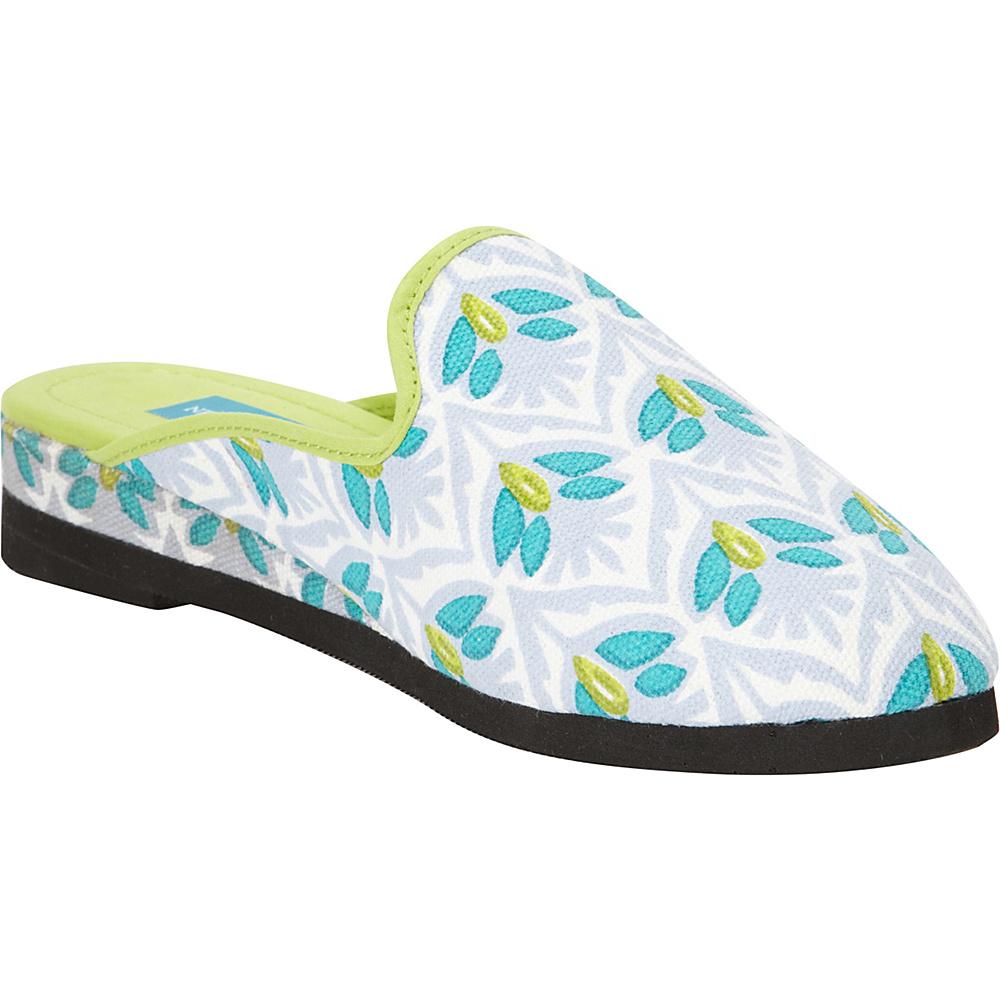 Needham Lane Dorset Slip Ons Blue Large Needham Lane Women s Footwear