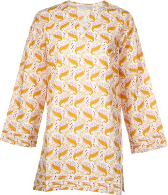 Needham Lane Shrimp Tunic L - Orange - Needham Lane Women's Apparel