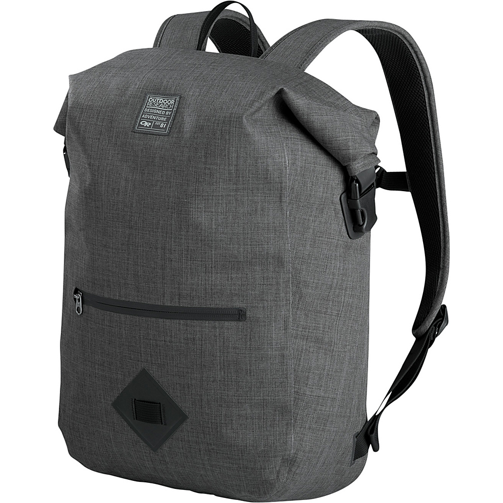 Outdoor Research Rangefinder Dry Backpack Charcoal Heather â One Size - Outdoor Research Business & Laptop Backpacks