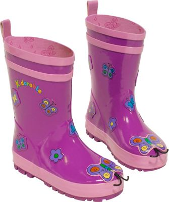 Kidorable Butterfly Rain Boots 10