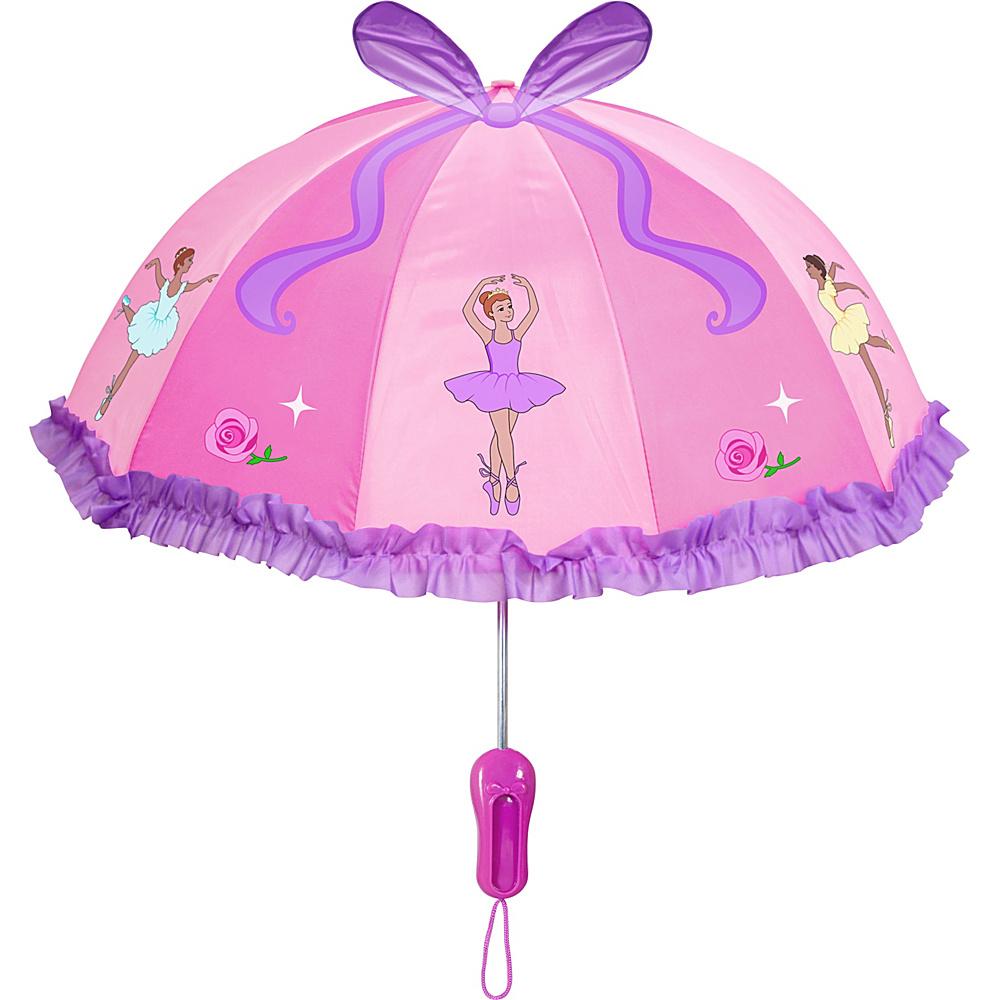 Kidorable Ballerina Umbrella Pink - Kidorable Umbrellas and Rain Gear - Travel Accessories, Umbrellas and Rain Gear