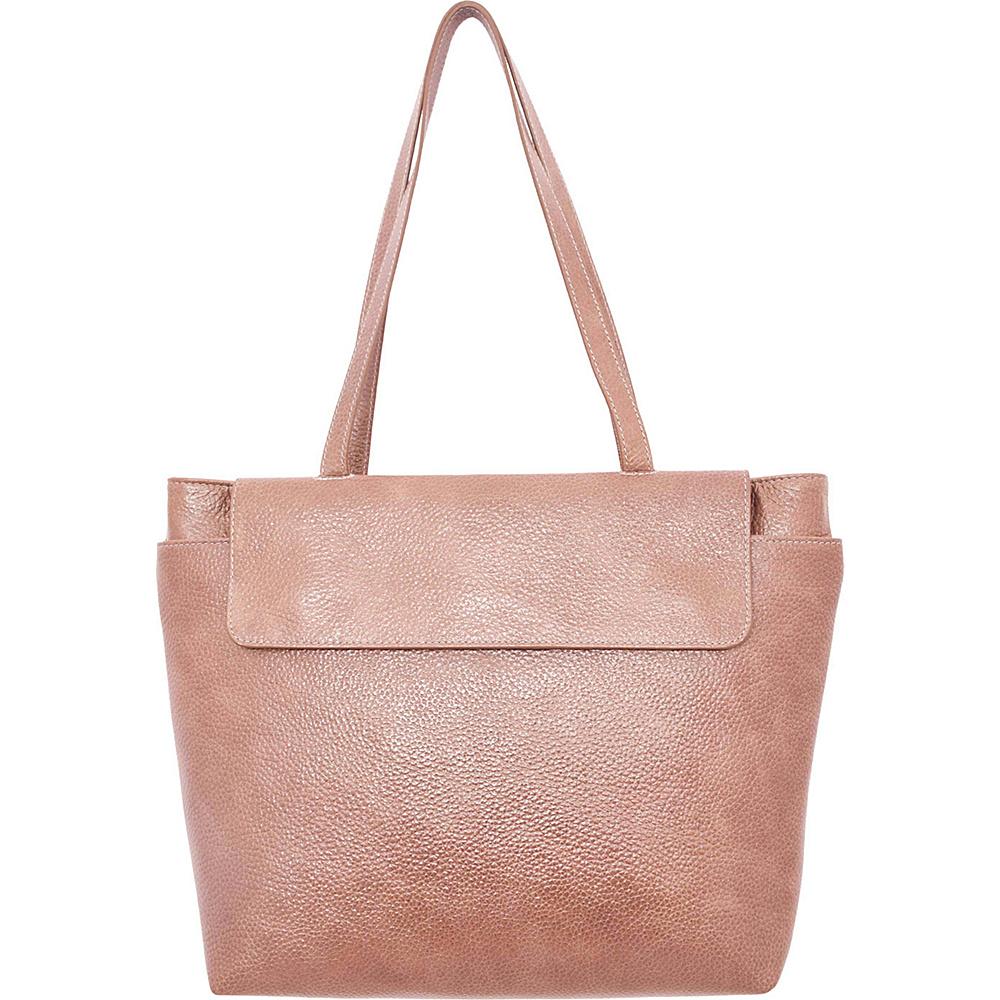 Latico Leathers Ives Tote Pebble Taupe - Latico Leathers Leather Handbags - Handbags, Leather Handbags
