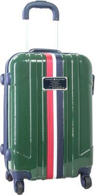 Tommy Hilfiger Luggage Lochwood 21 Hardside Carry-On Spinner Olive - Tommy Hilfiger Luggage Hardside Carry-On