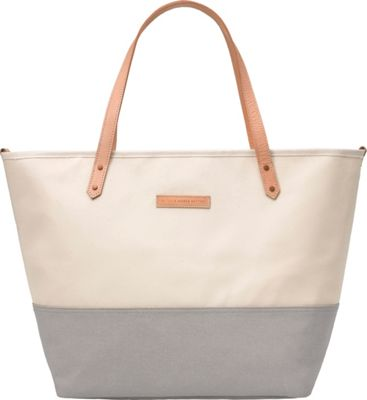 Petunia Pickle Bottom Downtown Tote Birch/Stone - Petunia Pickle Bottom Diaper Bags & Accessories