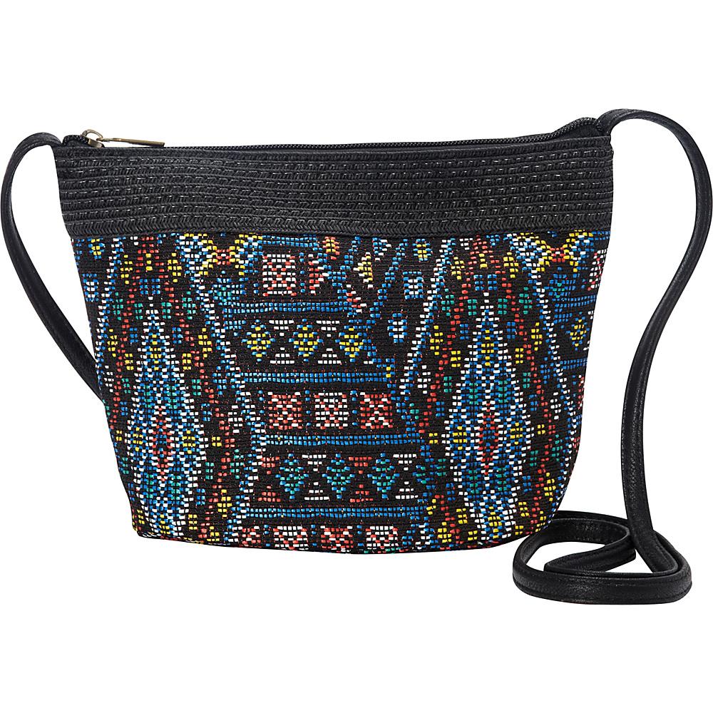 Sun N Sand Miramar Mini Crossbody Black - Sun N Sand Fabric Handbags - Handbags, Fabric Handbags