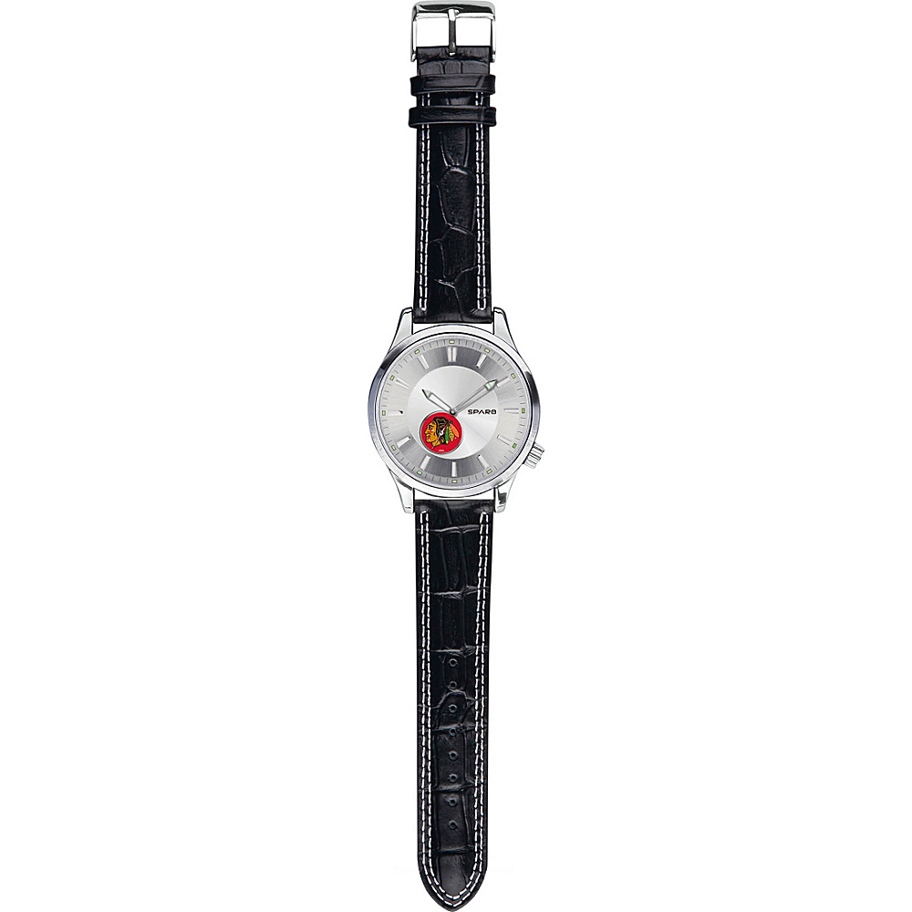 Rico Sparo - NHL Mens Icon Watch Black - Chicago Blackhawks - Rico Watches
