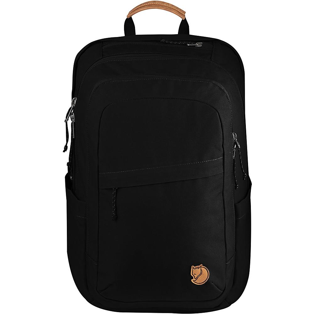 Fjallraven Raven 28L Backpack Black - Fjallraven Business & Laptop Backpacks - Backpacks, Business & Laptop Backpacks