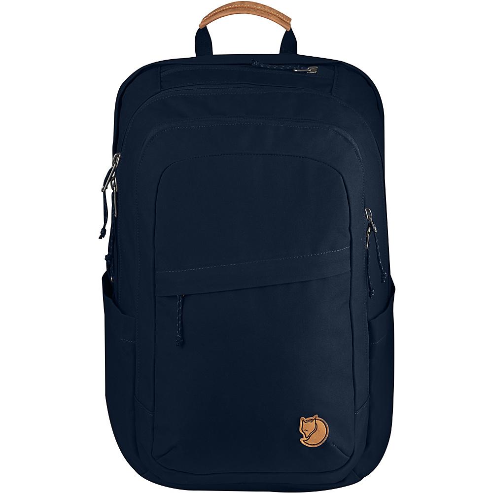 Fjallraven Raven 28L Backpack Navy - Fjallraven Business & Laptop Backpacks - Backpacks, Business & Laptop Backpacks