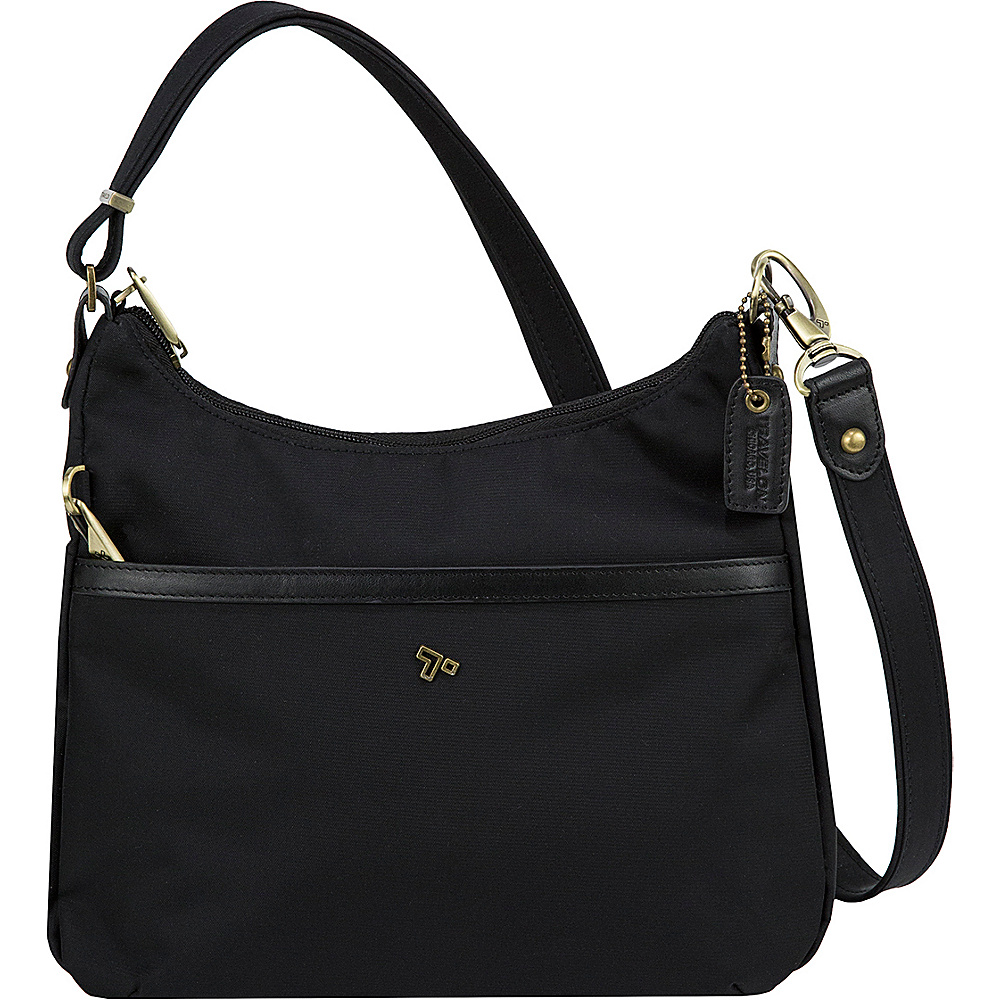 Travelon Anti-Theft LTD Hobo Bag Black - Travelon Fabric Handbags - Handbags, Fabric Handbags