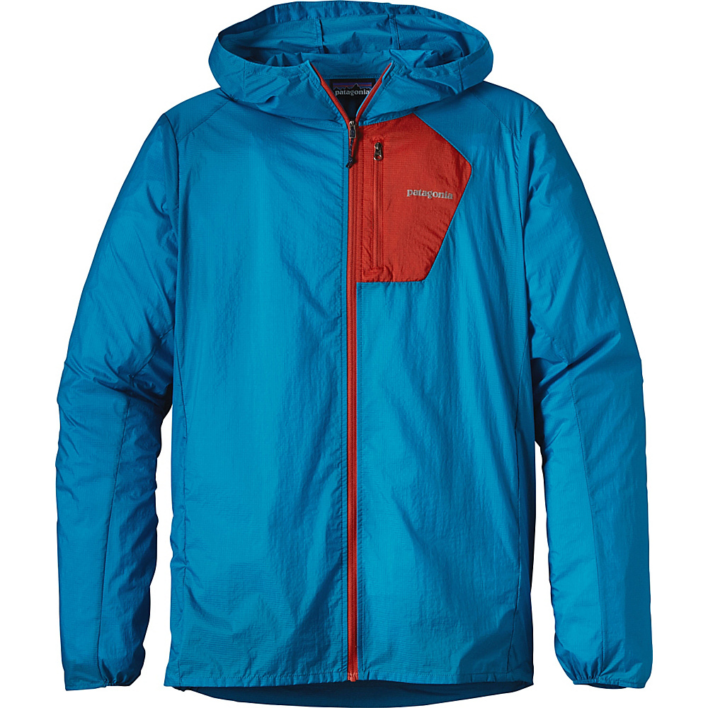 Patagonia Mens Houdini Jacket XS - Grecian Blue - Patagonia Mens Apparel - Apparel & Footwear, Men's Apparel