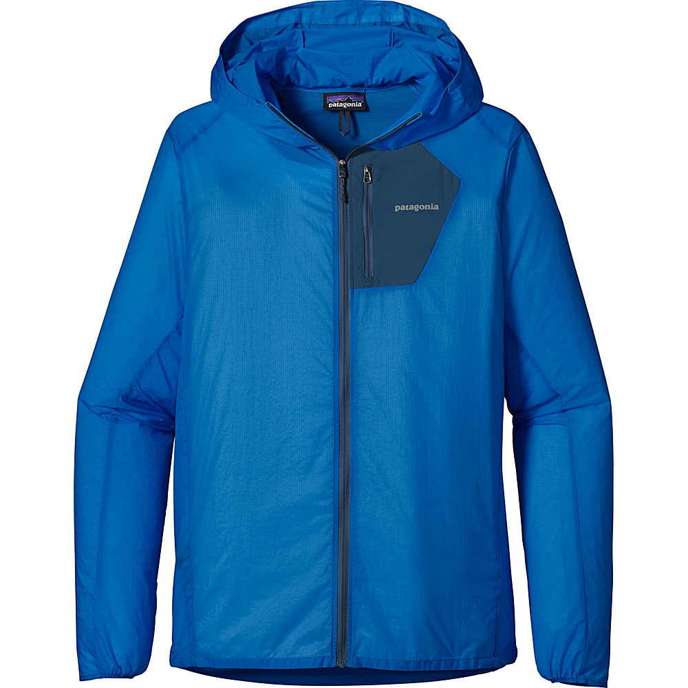 Patagonia Mens Houdini Jacket S - Andes Blue - Patagonia Mens Apparel - Apparel & Footwear, Men's Apparel