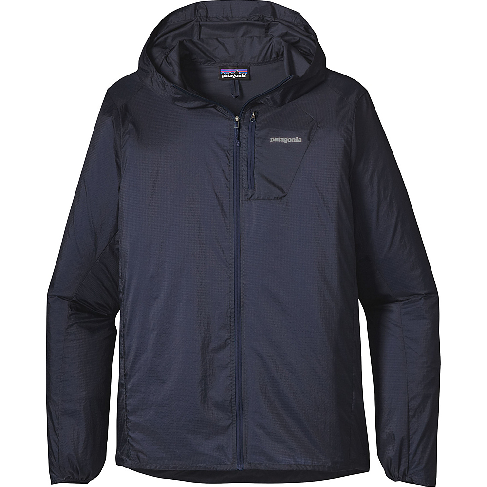 Patagonia Mens Houdini Jacket S - Navy Blue with Navy Blue - Patagonia Mens Apparel - Apparel & Footwear, Men's Apparel