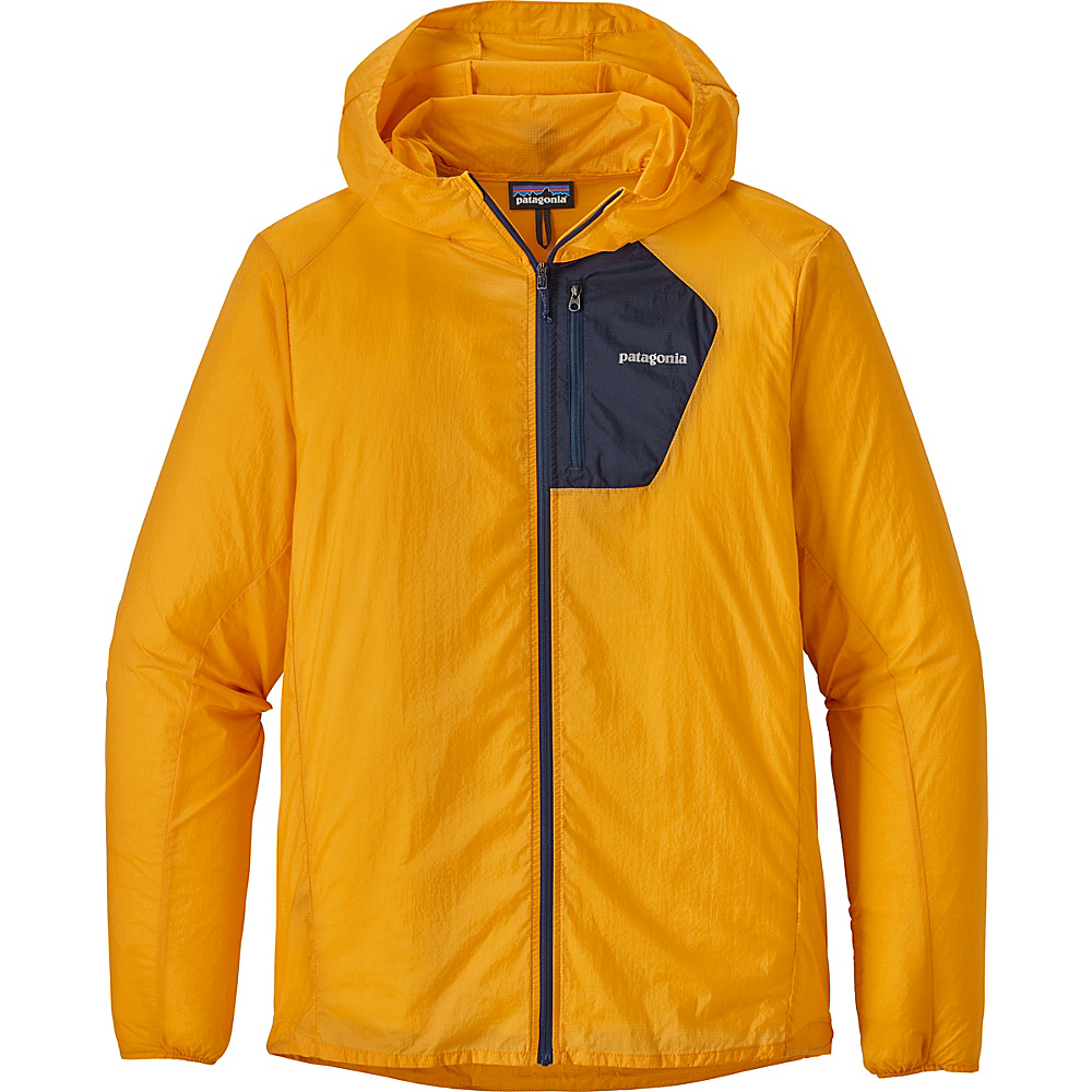 Patagonia Mens Houdini Jacket L - Rugby Yellow - Patagonia Mens Apparel - Apparel & Footwear, Men's Apparel