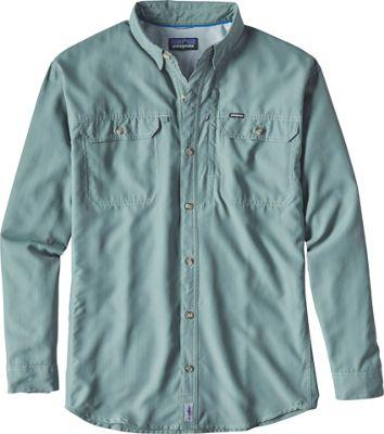 Patagonia Mens Long Sleeve Sol Patrol II Shirt M - Hemlock Green - Patagonia Men's Apparel