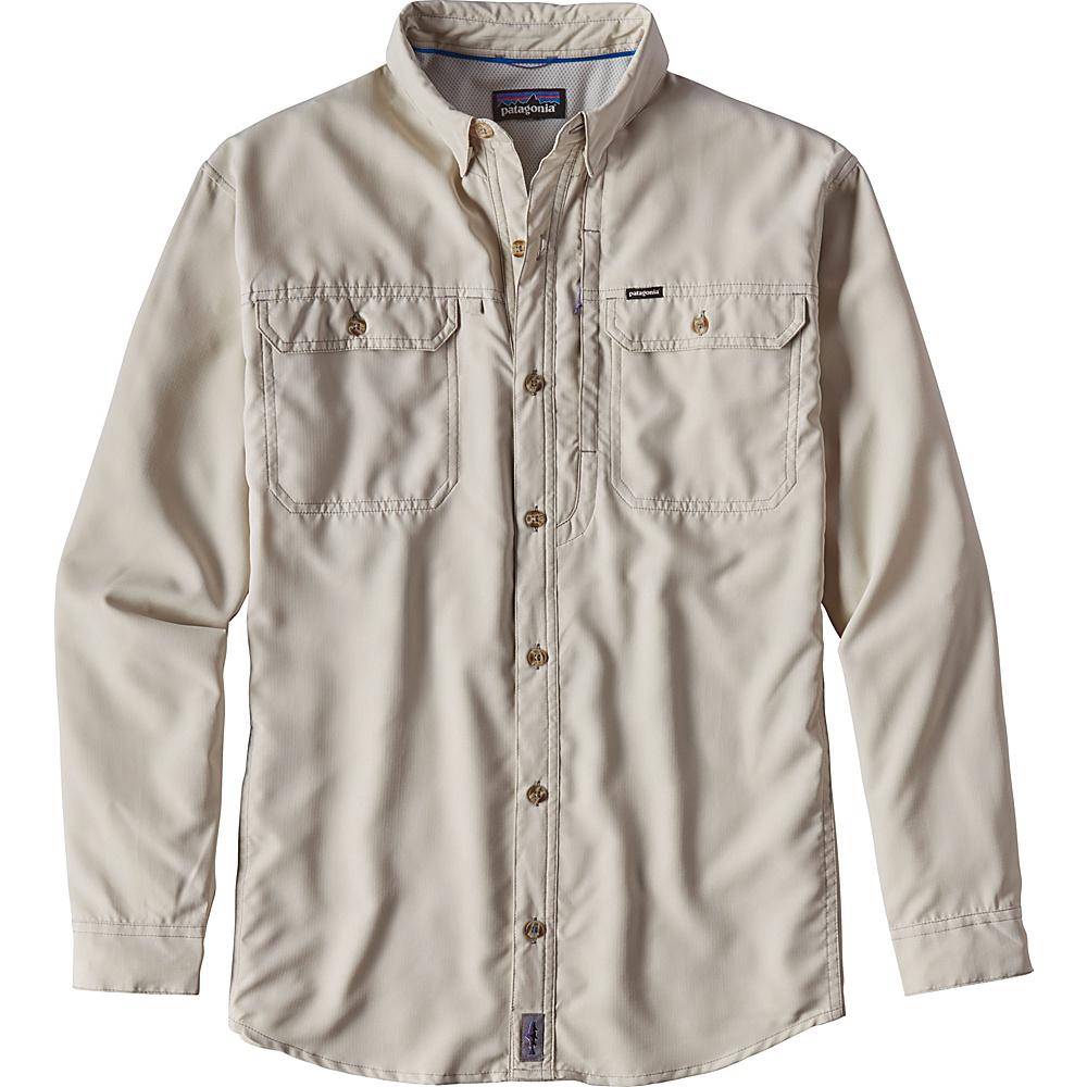 Patagonia Mens Long Sleeve Sol Patrol II Shirt XL - Pelican - Patagonia Mens Apparel - Apparel & Footwear, Men's Apparel