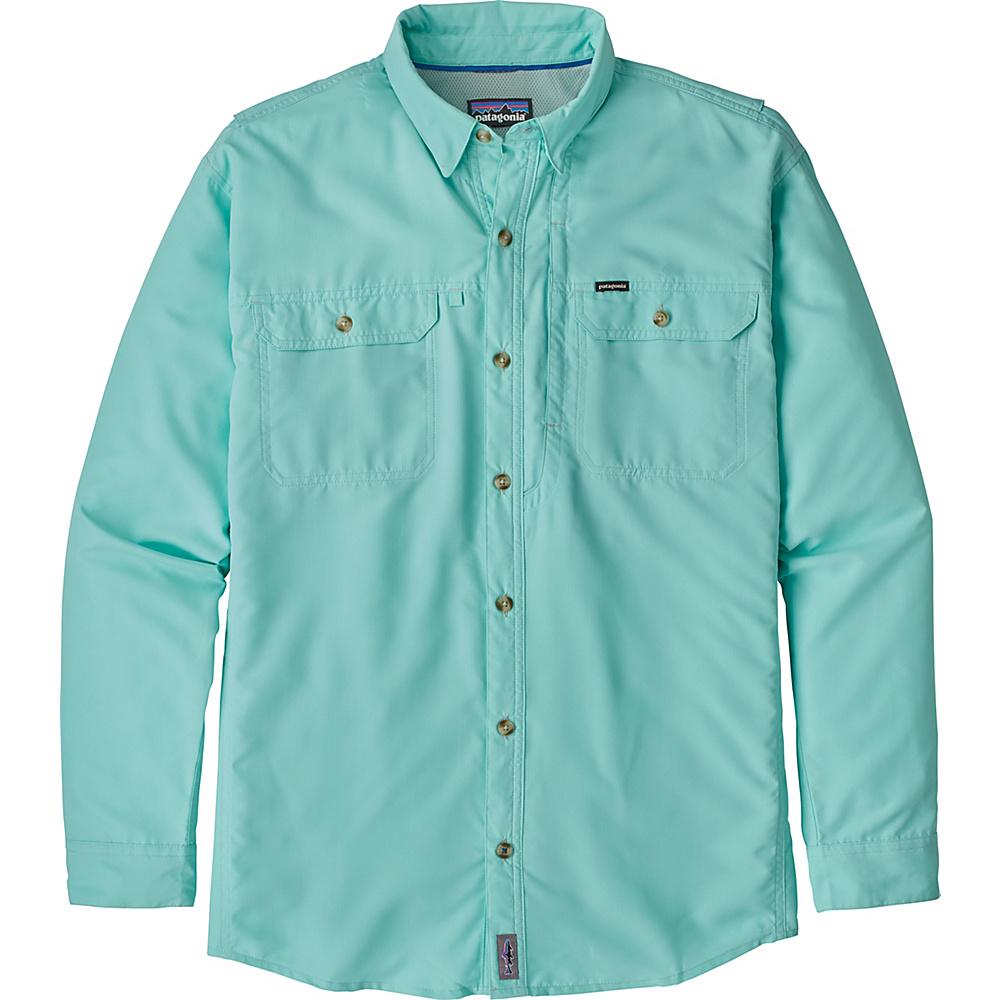 Patagonia Mens Long Sleeve Sol Patrol II Shirt 2XL - Tailored Grey - Patagonia Mens Apparel - Apparel & Footwear, Men's Apparel