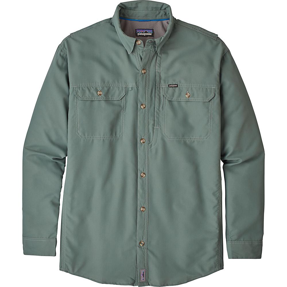Patagonia Mens Long Sleeve Sol Patrol II Shirt 3XL - Tailored Grey - Patagonia Mens Apparel - Apparel & Footwear, Men's Apparel
