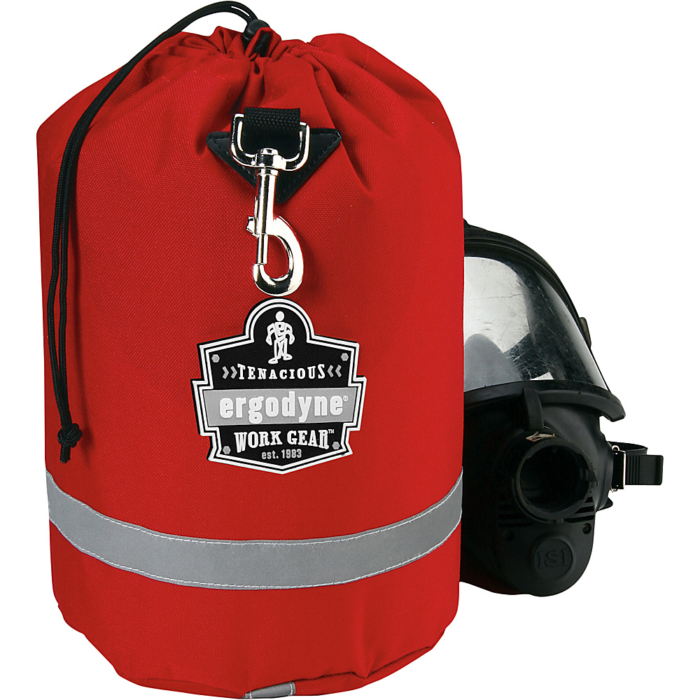 Ergodyne GB5080L SCBA Mask Bag with Lining Red Ergodyne Other Sports Bags