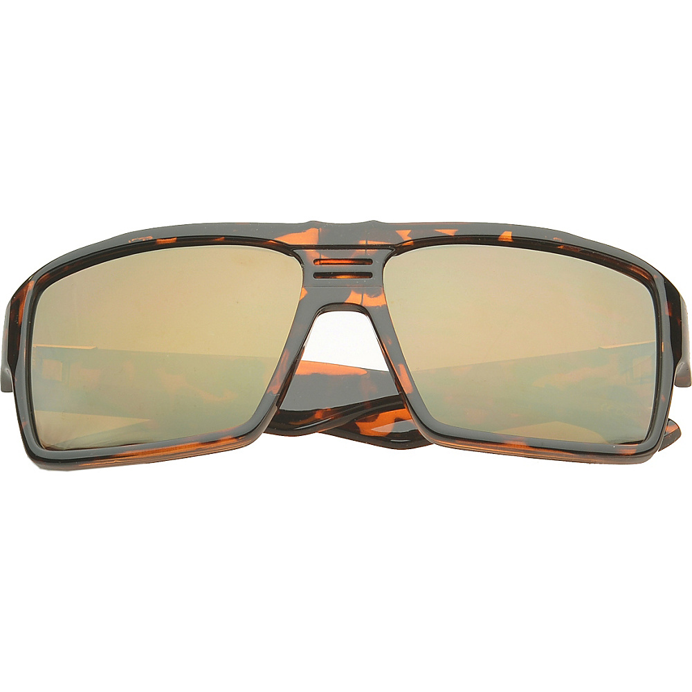 SW Global Eyewear Costa Rectangle Fashion Sunglasses Brown - SW Global Sunglasses - Fashion Accessories, Sunglasses