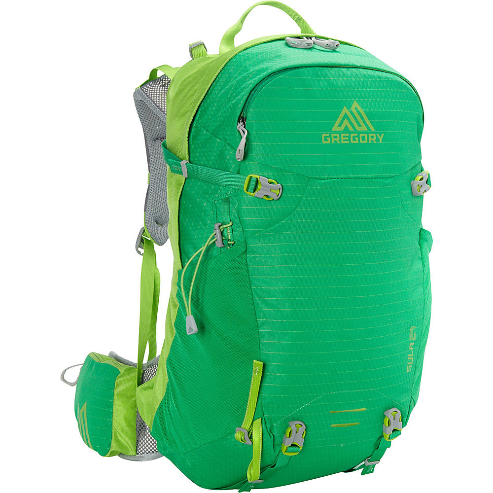 Gregory Sula 24 Backpack Bright Green Gregory Day Hiking Backpacks