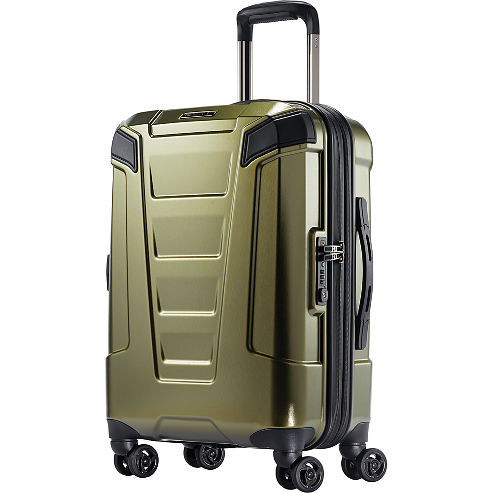 Boyt Mach PC Hardside Spinner 20 Olive Green - Boyt Hardside Luggage