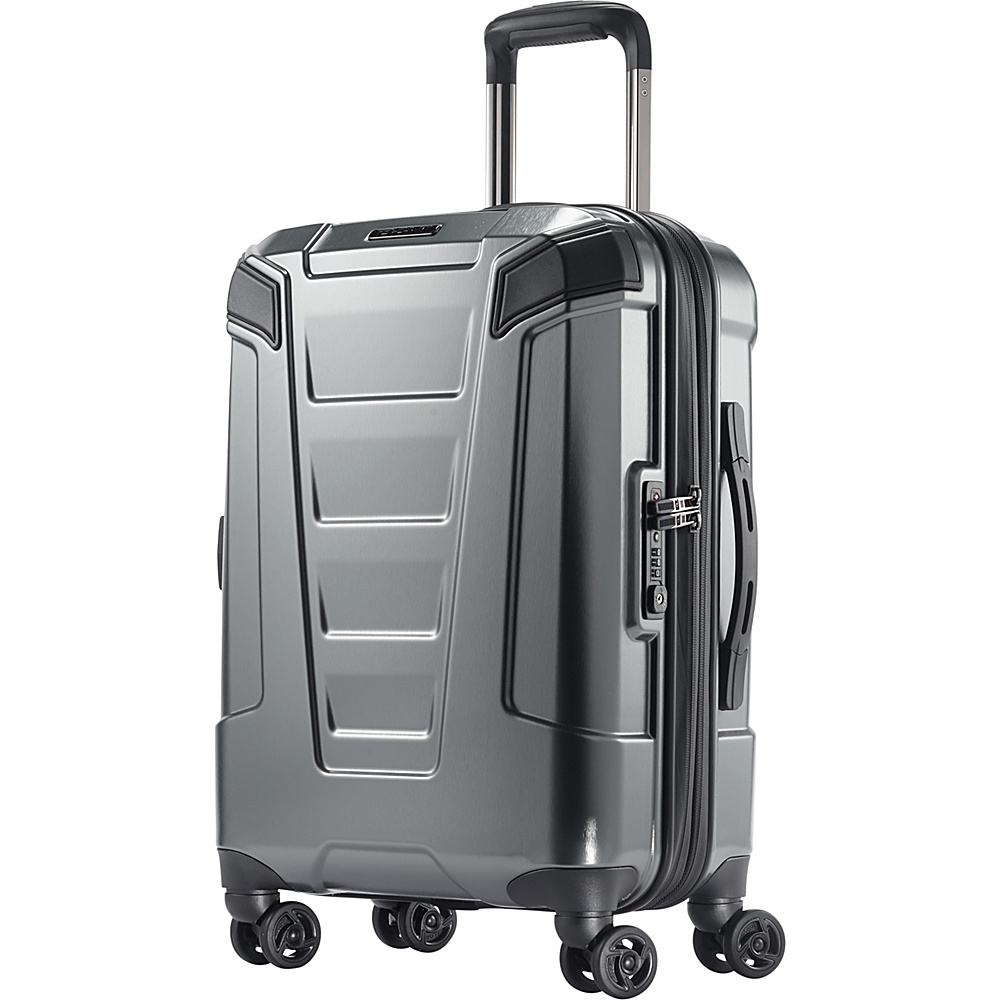 Boyt Mach PC Hardside Spinner 20 Silver - Boyt Hardside Luggage